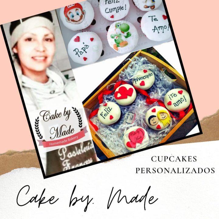 Cupcakes personalizados en Bogotá, disfruta de los mejores cupcakes decorados para domicilio en Bogotá, sólo en la pastelería cake by made