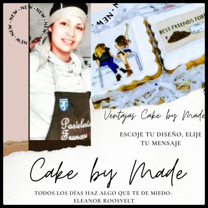 Impresiones comestibles Cake by Made PARA tortas, Detalles galletas cupcakes personalizados en Bogotá en la pastelería elige el mensaje , las fotos y decora tus galletas y cupcakes a tu gusto